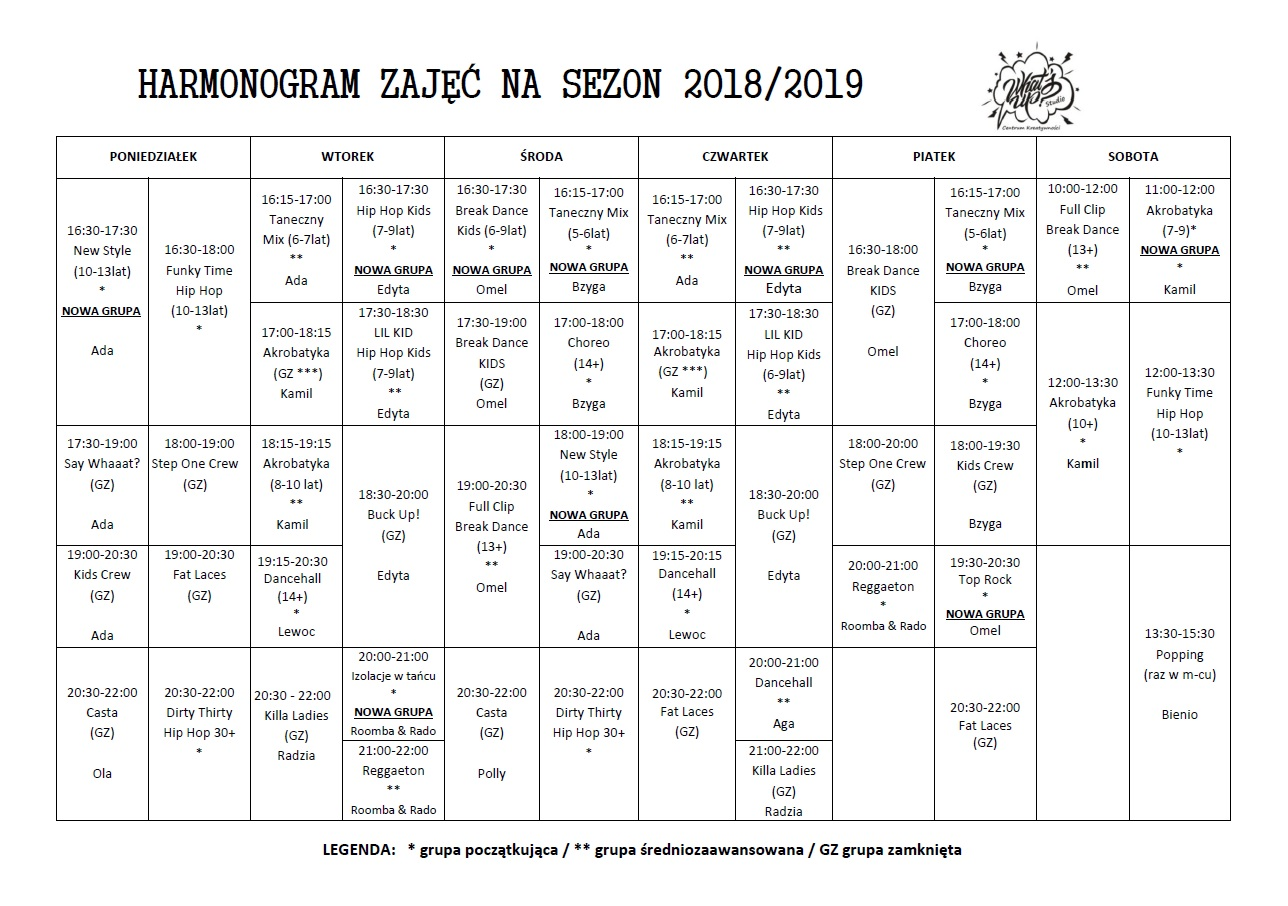 grafik sezon 2018 2019