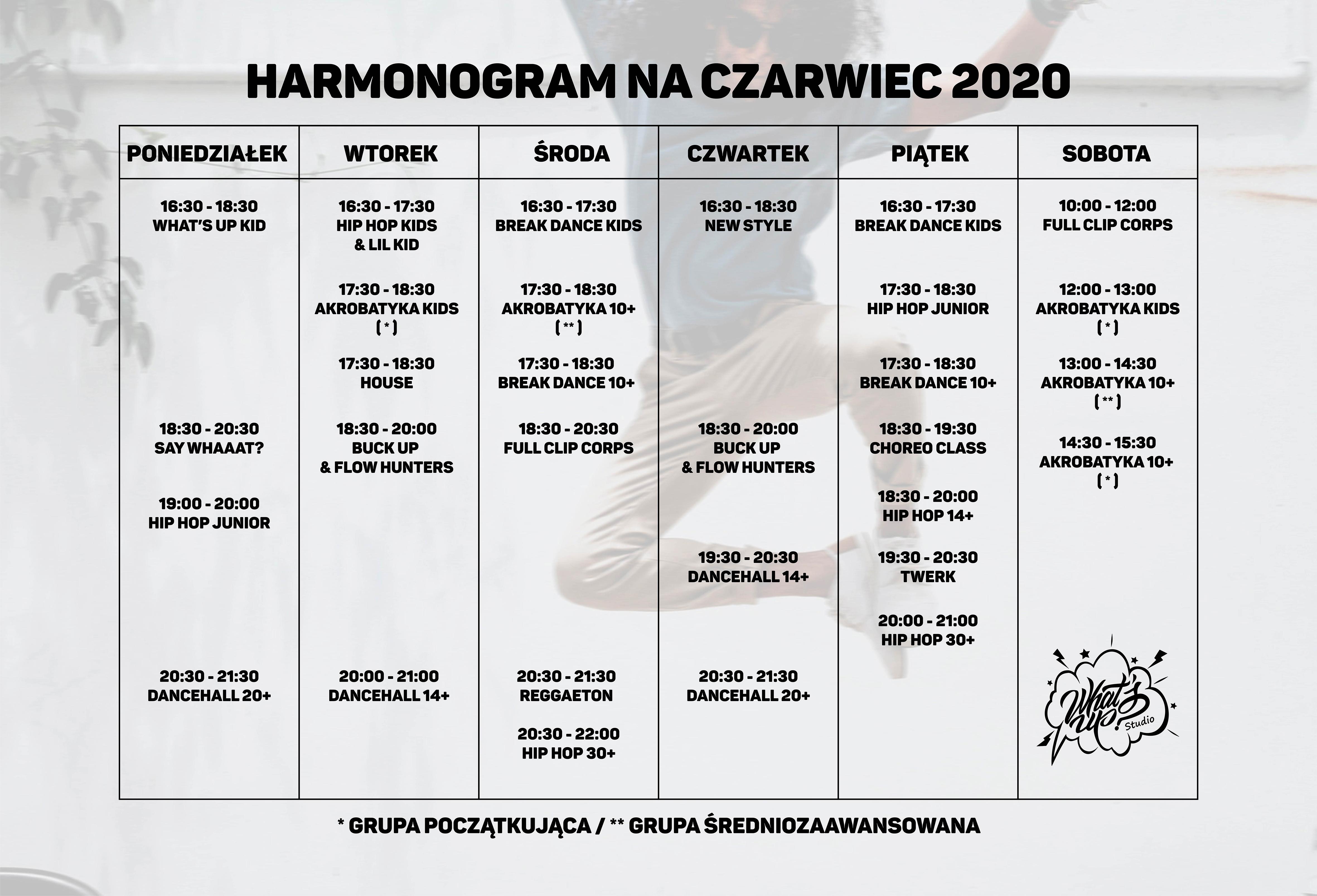 grafik 2020 czerwiec